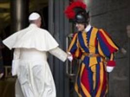 A meal fit for a Pope: Swiss Guards produce cookbook on Pontiff's favourite meals