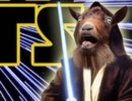 Watch: <i>Star Wars</i> Remade with Goat Noises