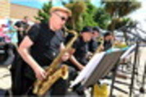 it's a capital event at swansea jazzland